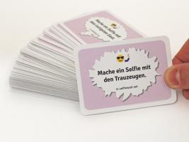 Foto 4 100 Spielkarten, Hochzeitsspiel, Gäste lernen sich kennen, Selfie-Foto-Aufgaben