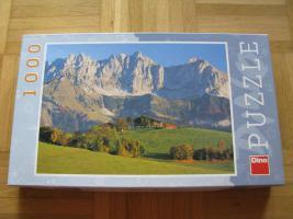 1000 Teile PUZZLE, Kitzbühel