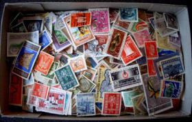 10000 Briefmarken aus aller Welt