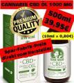 ❌ Cannabis CBD Kokos-Hanföl ❌ 500ml 1000mg nur 39,95€