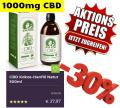 ❤️ Cannabis CBD ÖL 1000MG 500ml Aktions-Preis nur 27,97€