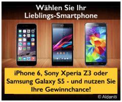 ➤Handy-➤Gewinnspiel! ◆iPhone 6, Sony Xperia Z3 oder Samsung Galaxy S5 #GEWINNEN?