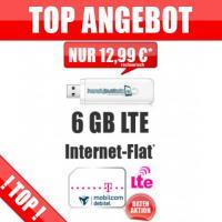 ➦Internet-Flatrate LTE 6000+ ➦168,00 Euro* Barauszahlung!
