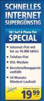 1&1 Aktuelle DSL Angebote!Eine breite Palette an Angeboten zum Surfen und Telefonieren im Programm!