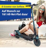 Foto 2 1&1 All-Net-Flat dazu *E-Scooter von SoFlow S06 mit Straßenzulassung
