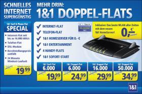 Foto 2 1&1 INTERNET SUPERGÜNSTIG:Internet-Flatrate!Telefon-Flatrate!DSL-Modem!Surf & Phone Flat !19,99 €