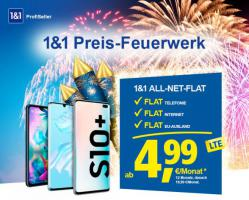 1&1 Preis – Feuerwerk All-Net-Flat nur ab 4,99/€ Mon