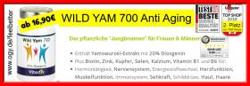 ⭕️ WILD YAM 700 Anti Aging  nur 19€ Jungbrunnen für SIE + IHN