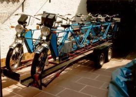 12 Sitzer Tandem Fahrrad