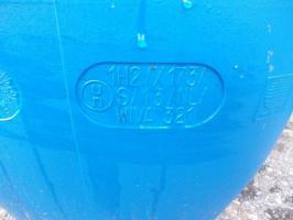 gebrauchte 120 L Weithalsfässer Mit UN Nummer