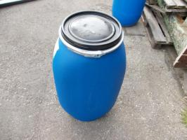 gebrauchte 120 L Deckelfässer