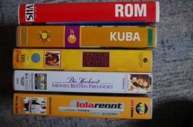 Foto 3 15 VHS-Kassetten, Spielfilme, Reisen, Modellbahn