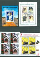 Foto 3 15 verschiedene Asien gestempelte Blöcke/Kleinbogen wie auf Bilder zu sehen, ohne Steckkarten.