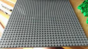 Foto 4 17 graue dünne Grundplatten 32 x 32 Noppen lego kompartibel