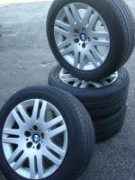Foto 3 18 Zoll BMW Felgen & Reifen 93 (Stich 5 X 120)  Farbe: Silber Durchmesser: 18 Zoll Rastermaß: 5 x 120 Offset: 24 Reifenmarke: Michelin Reifengröße: 245 / 50R18 Preis: € 499, -  Handel ist möglich!  202