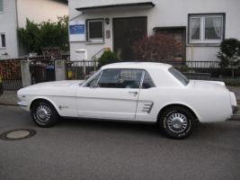 1966 FORD MUSTANG COUPE WHITE +++ TOP ANGEBOT +++