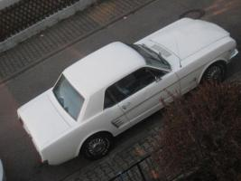 Foto 2 1966 FORD MUSTANG COUPE WHITE +++ TOP ANGEBOT +++