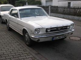 Foto 3 1966 FORD MUSTANG COUPE WHITE +++ TOP ANGEBOT +++