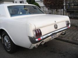 Foto 4 1966 FORD MUSTANG COUPE WHITE +++ TOP ANGEBOT +++
