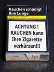 1x Abdeckung für Warnbild auf Zigarettenschachtel - 22er Packung Keine unansehnlichen Bilder mehr!