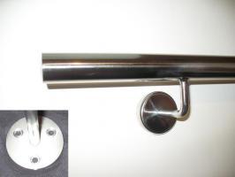 1x HANDLAUF 150 cm - Edelstahl zur Wandbefestigung
