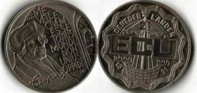 2 1/2 ECU von 1991 - Niederlande