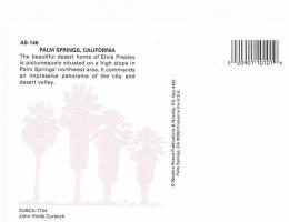 Foto 4 2 Ansichtskarten Palm Springs California & Rancho Mirage California ! !