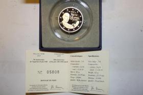 2 EUR Gedenkmünze Frankreich in PP 2010  ( Charles de Gaulle )