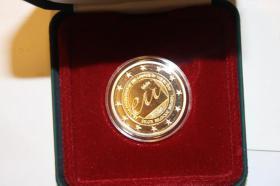 Foto 3 2 EUR Münzen 2010 - in PP -1. Charles de Gaulle -2. Belgien nur 35 EUR pro Münze