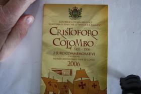 Foto 5 2 EUR San Marino 2004 ( Bart. Borghesi ) im Folder - nur 158 EUR + Porto