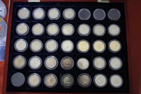 2 EURO Gedenkmünzen ab 2002 ( auch San Marino + Vatikan )