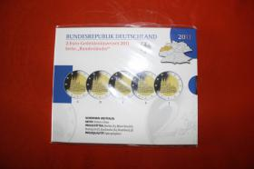 2 EUR - Gedenkmünzenset 2012 - Bayern in  PP  35,00