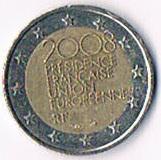 2 Euro Gedenkmünze'' Frankreich '' 2008'' !!!
