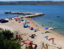 Foto 15 2 Ferienwohnungen bis zu 4 Personen in Rtina Miocici bei Zadar 150 m vom Strand Dalmatien