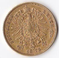 Foto 2 2 Goldmünzen Wilhelm Herzog zu Braunschweig U. LÜN. Deutsches Reich 1875 20 Goldmark A, Wilhelm Deutscher Kaiser und König von Preußen 1872 20 Goldmark A