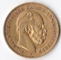 Foto 3 2 Goldmünzen Wilhelm Herzog zu Braunschweig U. LÜN. Deutsches Reich 1875 20 Goldmark A, Wilhelm Deutscher Kaiser und König von Preußen 1872 20 Goldmark A