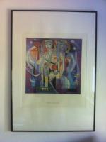 """2 Kunstdrucke der Künstlerin Jianghua Su mit dem Titel  ''Women in Space"""""""