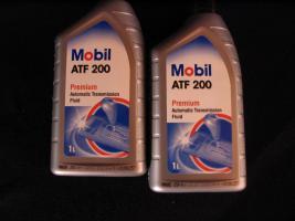2 Liter Getriebeöl Mobil ATF200 MB Freigabe 236.2 / Type A (Suffix A)-Spezifikation - Mobil ATF 200 für Automatik und Synchrongetriebe MB W114, W123, W124 und W201