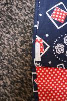 Foto 5 #2 Sommerhosen f. Zwillinge, Gr. 98, #NEU, #Bondi, #dunkelblau-rot-weiß