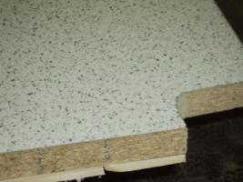 Foto 2 2 Stück Küchenarbeitsplatten von Getalit Dekor ''Granito hell'' 4,10m x 0,60m
