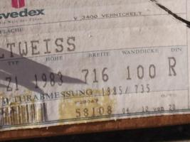 2 Stück Svedex Türzargen Altweiß 198,5 x 73,5 x 10,0 DIN Li u.DIN Re