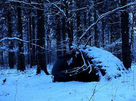 2 Tage Überleben, Winter / Survival Training in Schleswig-Holstein