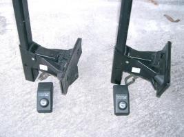 2 Thule Grundträger u. 1 Fahrradhalter