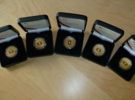Foto 4 2 x 100 Euro Goldmünze 2005 Fussballweltmeisterschaft 2006