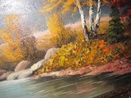 Foto 6 2 x Öl- Gemälde vom H. Hartung, 1x Landschaft, 1x Berliner- Schloss- Brücke( signiert)