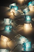 20 Blue Chinese Paper Lantern Party String Party