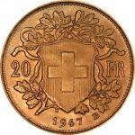 20 Franken Gold