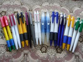 20 Neue Dicke Kugelschreiber Mit Und Ohne Werbung