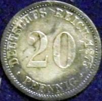 Foto 2 20 Pfennig Kaiserreich - Silber