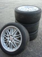 Foto 3 20 Zoll RH-Reifen & Felgen (Einsatz 5 X 120,6)  Farbe: Silber Durchmesser: 20 Zoll Rastermaß: 5 x 120,6 Offset: 50 Reifenmarke: Pirelli Reifengröße: 295 / 40R20 Preis: € 599.-  Passt unter einem cervolet.  Exchange ist, wenn angemessene möglich!  1115